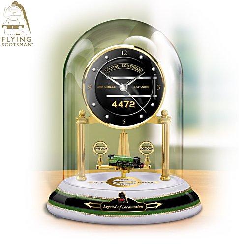 'Legend Of Locomotion' Anniversary Clock