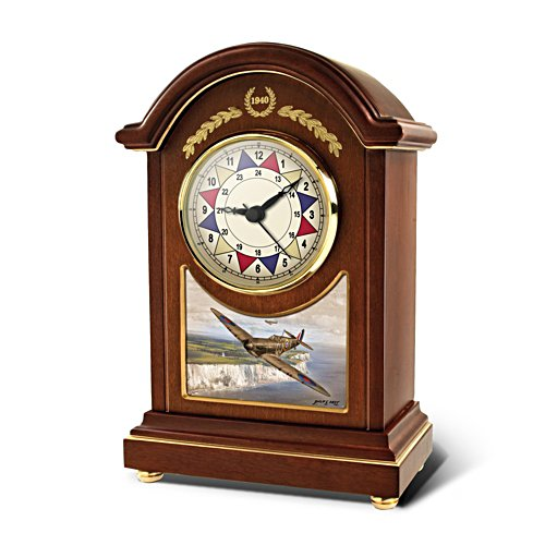 Battle Of Britain 'Defending The Realm' Sector Carriage Clock
