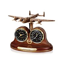 70th Anniversary Lancaster Desk Clock