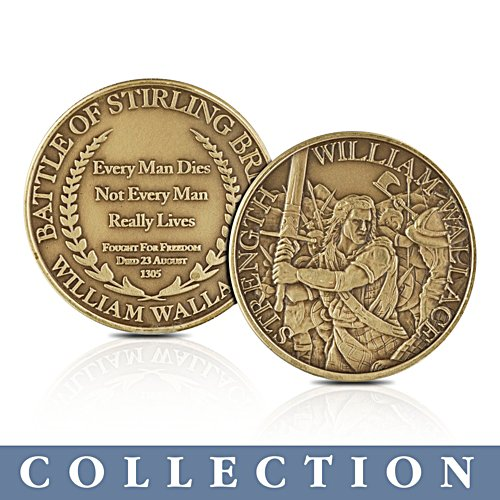 'Freedom Of Scotland' Patriotic Medallions Collection