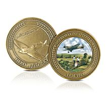 'The Supermarine Spitfire Fighter' Commemorative Medallion