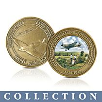 'Heroes Of The Skies' Commemorative Medallion Collection
