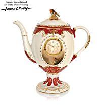 'Dawn's Bright Herald' Teapot Clock