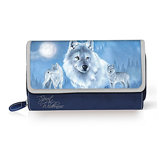 Eddie Le Page 'Spirit Of Wilderness' Wolf Purse
