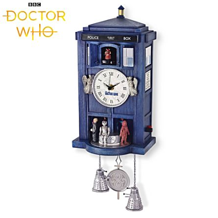 Doctor Who TARDIS Sculpted Clock