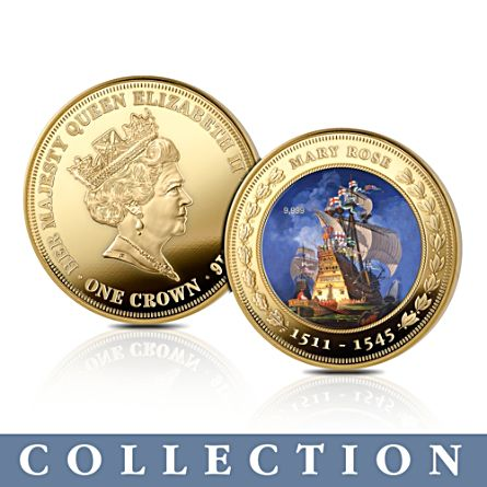 The Royal Navy 'Pride Of The Seas' Crown Coin Collection