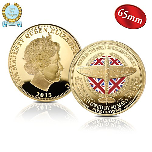 'Battle Of Britain' 75th Anniversary Five Crowns Coin