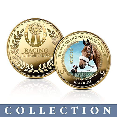 'Racing Legends' Horse Commemorative Collection