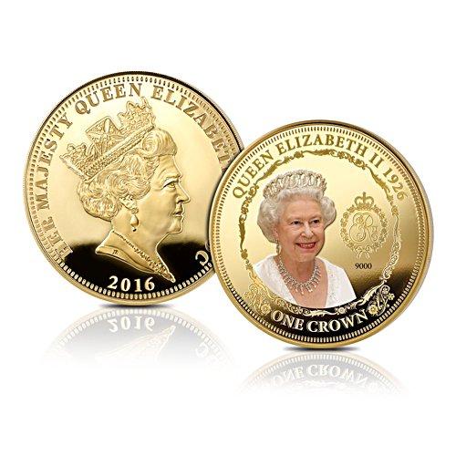 'Queen Elizabeth II' Greatest Britons One Crown Coin