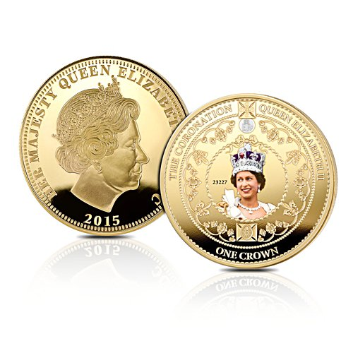 'Queen Elizabeth II Longest Reigning Monarch' Crown Coin