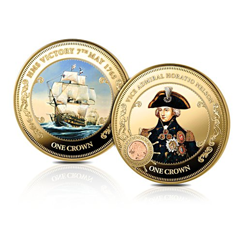 The HMS Victory 250th Anniversary Commemorative Crown Coin Set