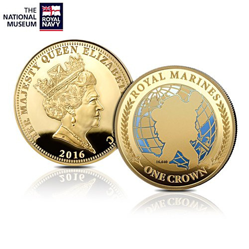 The Royal Marines Commemorative Coin
