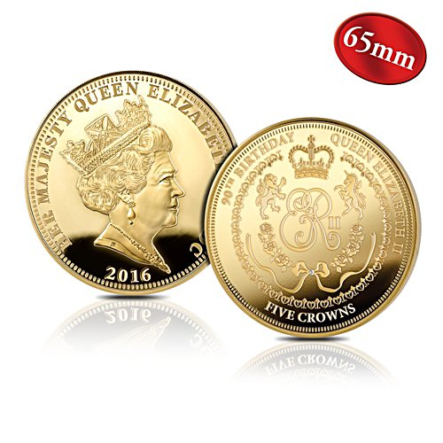 Queen Elizabeth II 90th Birthday Five Crown Coin