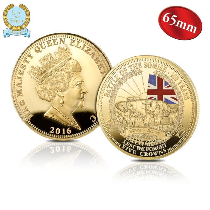 The 'Battle Of The Somme' Five Crown Coin