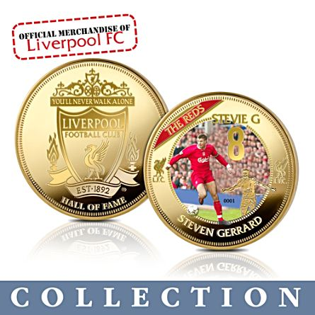 'Liverpool FC Hall Of Fame' Commemorative Collection