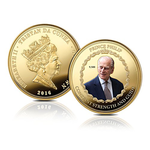 'The Prince Philip 95th Birthday' Golden Crown Coin