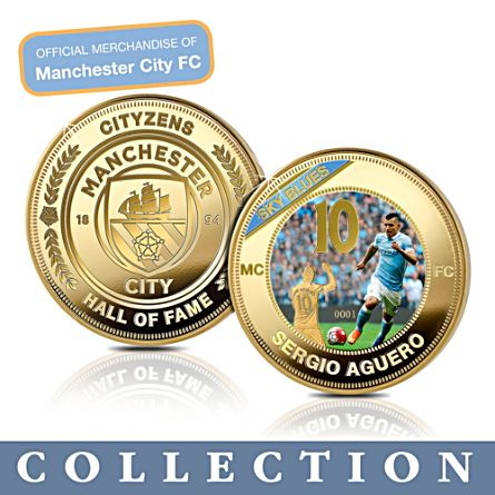 Manchester City FC Hall Of Fame Commemorative Collection