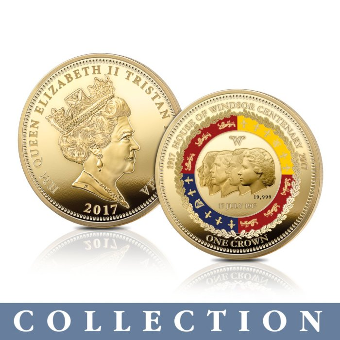 The House Of Windsor Centenary Golden Crown Collection
