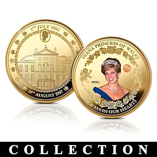 Diana, Princesse de Galles – Médaille souvenir - Collection