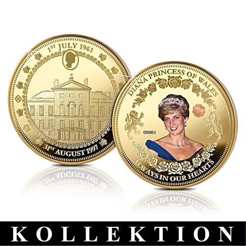 Diana, Fürstin von Wales – Gedenkmedaillen-Kollektion