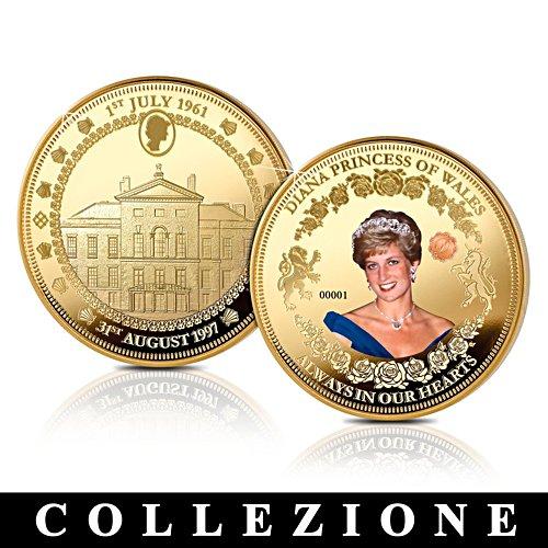 Diana, Principessa del Galles - medaglione commemorativo - Collezione