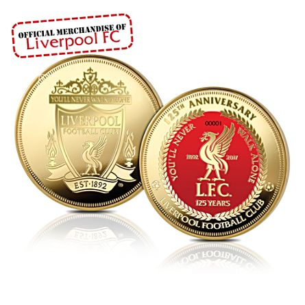 125th Anniversary Of Liverpool FC Commemorative