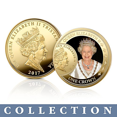 The Sovereign's 200th Anniversary QEII Crown Coin Collection