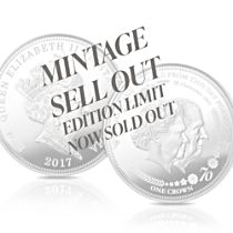 The Platinum Wedding Anniversary Coin