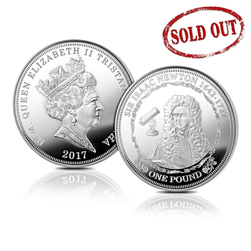 'Farewell To The Round Pound' - Solid Silver One Pound Coin