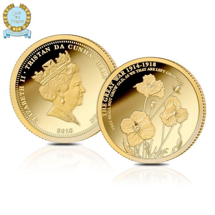 2018 Returning Heroes Gold Commemorative