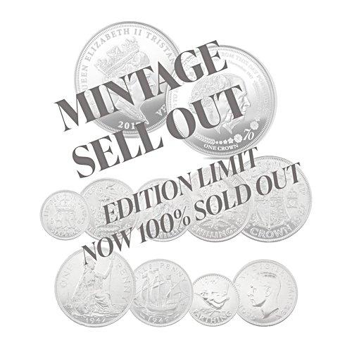 The 1947 Royal Wedding Prestige Coin Set