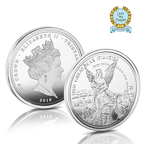 The 2018 Armistice Centenary 'Ode Of Remembrance' Coin