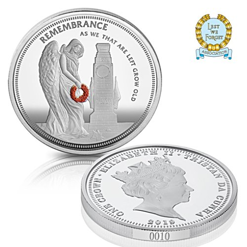 The '100 Years of Remembrance' Coin - Uniquely Numbered Edition