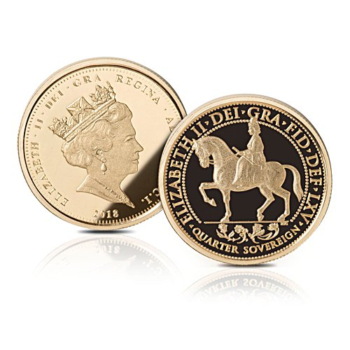 The Sapphire Jubilee Proof Gold Quarter Sovereign