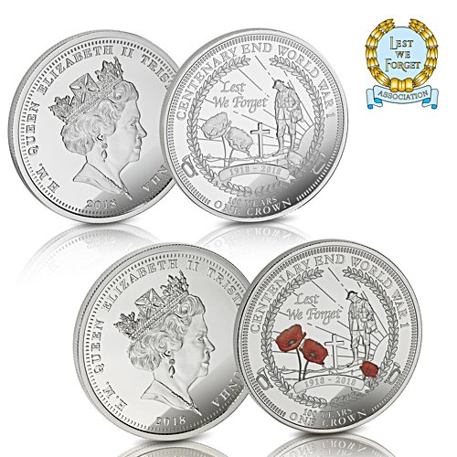 The Lest We Forget Remembrance Coin Set