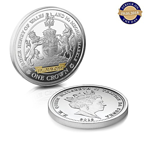 The Royal Wedding Crown  - The Struck-on-the-Day - Limited mintage issued on 19th May 2018