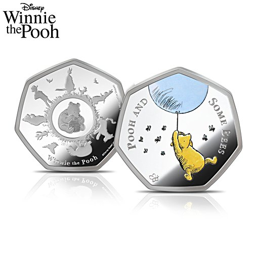 The Disney Winnie The Pooh Silver-Layered Commemorative