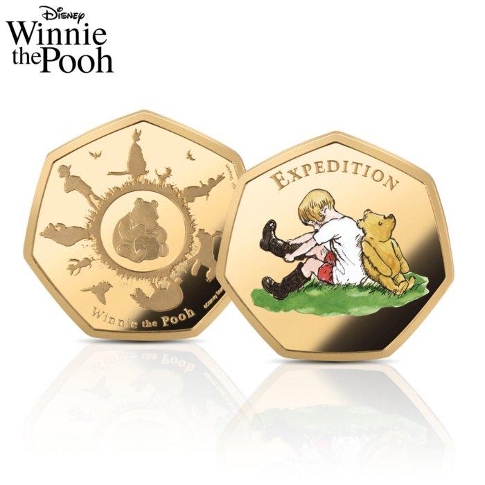 1c8210e38 The Disney Winnie The Pooh Solid 24 Carat Gold Commemorative
