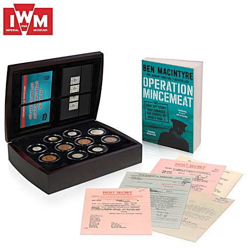 The Operation Mincemeat 75th Anniversary Set - officially licensed by Imperial War Museums