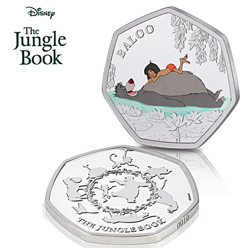 The Official Disney Jungle Book Commemorative - Uniquely Numbered Edition