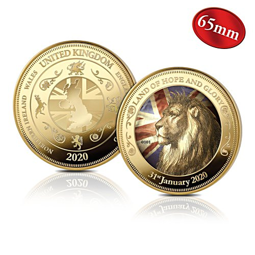 'The Celebration Of UK Independence' 65mm Brexit Commemorative