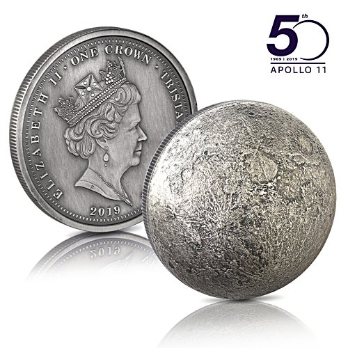 The World's First Moon Dome Crown Coin