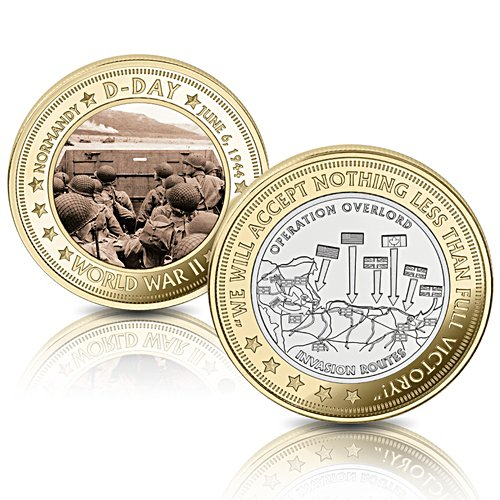 The D-Day 75th Anniversary Uniquely Numbered Commemorative