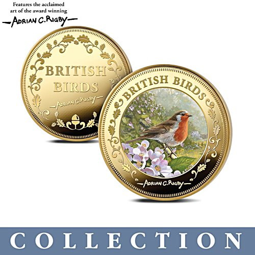 'British Birds' Jewels Of Nature Commemorative Collection