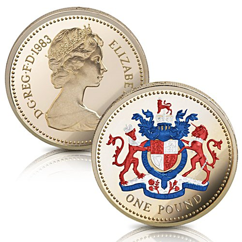 The Collector Edition of the First-Ever One Pound Coin