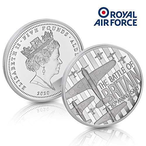 The Battle of Britain 80th Anniversary £5 Coin