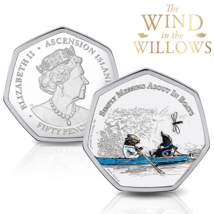 The Wind in the Willows Fifty Pence Coin