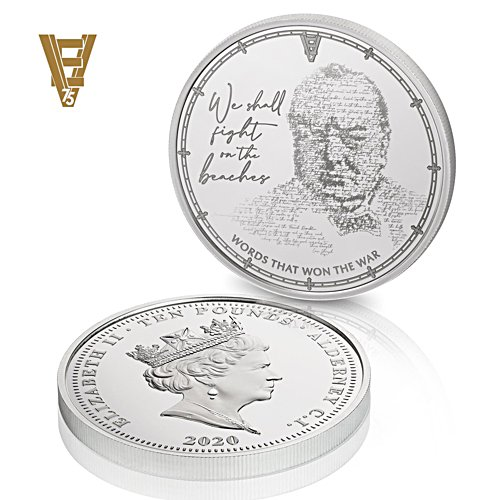 The VE Day 75th Anniversary £10 Coin