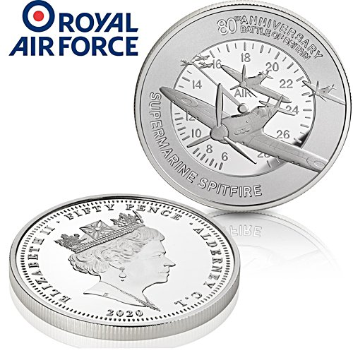 The Battle of Britain 80th Anniversary Spitfire Coin