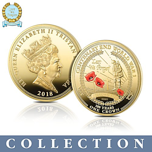 The Official Lest We Forget Armistice Centenary Coin